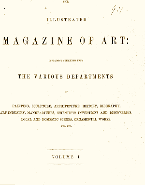 Illustrated Magazine of Art