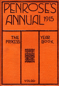 Penrose's 1921 Annual, Volume 23 Book The Process Year Book