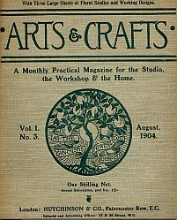 Arts crafts a monthly magazine for the studio the for Arts and crafts home magazine